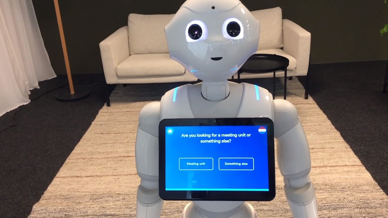 Pepper meeting assistant