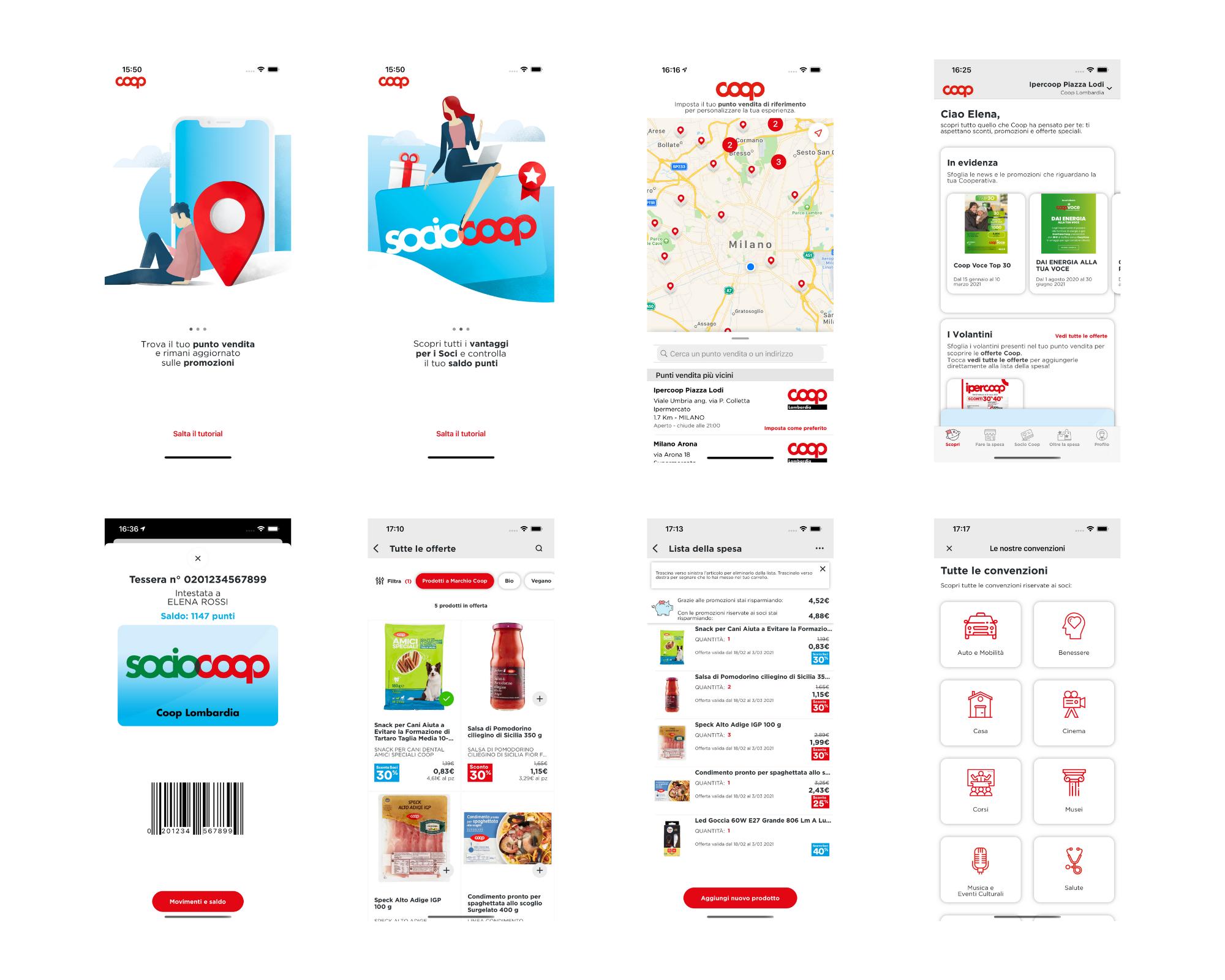 redesign coop app