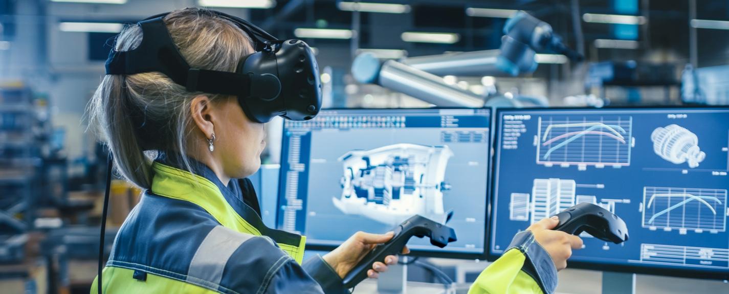 Applicazioni e vantaggi della realtà virtuale nell'Industria 4.0